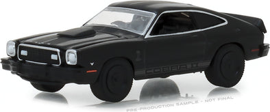 GreenLight 1/64 Black Bandit Series 20 - 1976 Ford Mustang II Cobra II Solid Pack  - #27960-E