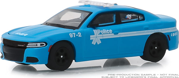 GreenLight 1/64 Anniversary Collection Series 8 - 2018 Dodge Charger - Montreal, Canada Police 175th Anniversary Solid Pack - #27980-E