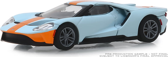 GreenLight 1/64 Anniversary Collection Series 8 - 2019 Ford GT - Ford GT Heritage Edition Solid Pack - #27980-F