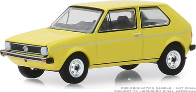 GreenLight 1/64 ANNIVERSARY COLLECTION SERIES 9 - 1974 Volkswagen Golf Mk1 Volkswagen Golf 45th Anniversary - #28000-C
