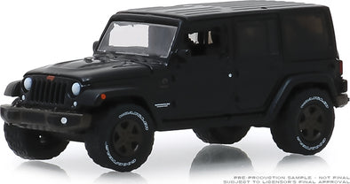 GreenLight 1/64 ANNIVERSARY COLLECTION SERIES 9 - 2016 Jeep Wrangler Unlimited 75th Anniversary Edition - #28000-F