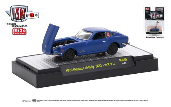 M2 Machine 1/64 Auto Japan MiJo exclusive - 1970 Nissan Fairlady Z432, Blue