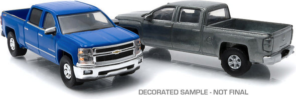 GreenLight 1:64 firstcut - 1:64 2014+ Chevy Silverado (Hobby Exclusive 2-Car Set) - #29827