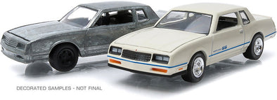 GreenLight 1/64 firstcut - 1:64 1981-84 Chevrolet Monte Carlo (Hobby Exclusive 2-Car Set) - #29829
