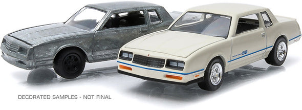 GreenLight 1/64 firstcut - 1981-84 Chevrolet Monte Carlo (Hobby Exclusive 2-Car Set) - #29829