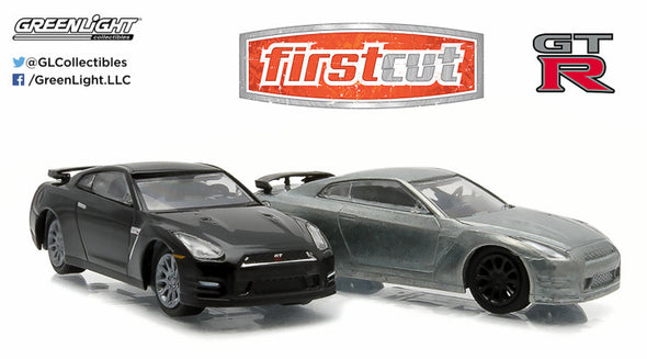 GreenLight 1:64 firstcut - 1:64 2007-14 Nissan Skyline GT-R (R35) (Hobby Exclusive) - #29831