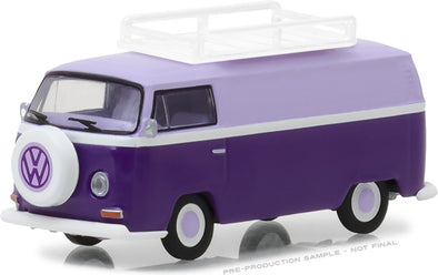 GreenLight 1/64 Club Vee-Dub Series 6 - 1971 Volkswagen Type 2 Panel Van with Roof Rack Solid Pack #29890-C