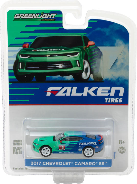 GreenLight 1/64 2017 Chevy Camaro - Falken Tire (Hobby Exclusive) #29914