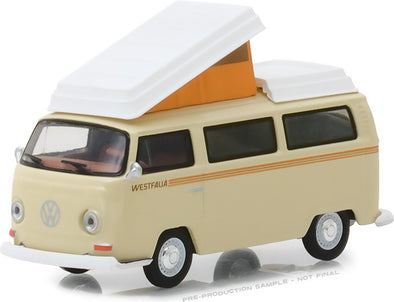 GreenLight 1/64 Club Vee-Dub Series 7 - 1972 Volkswagen Type 2 Campmobile Solid Pack #29920-F