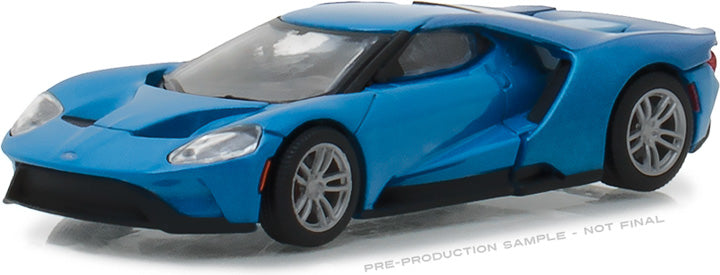 GreenLight 1/64 2017 Ford GT - Blue (Hobby Exclusive)) #29933