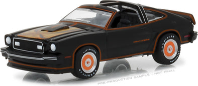 GreenLight 1/64 1978 Ford Mustang II King Cobra - Black & Gold (Hobby Exclusive) #29937