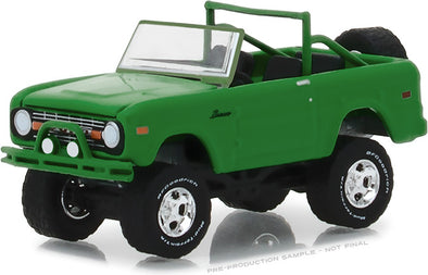 "GreenLight 1/64 BFGoodrich Vintage Ad Cars - 1971 Ford Bronco ""Take Control"" (Hobby Exclusive) #29942"