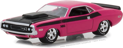 "GreenLight 1/64 BFGoodrich Vintage Ad Cars - 1970 Dodge Challenger T/A ""The Only Name Tattooed On More Muscles is Mom"" (Hobby Exclusive) #29943"