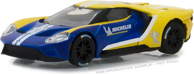 GreenLight 1/64 2017 Ford GT - Michelin Tires (Hobby Exclusive) #29945