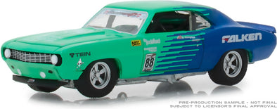 GreenLight 1/64 1969 Chevy Camaro #88 - Falken Tires (Hobby Exclusive) #29959