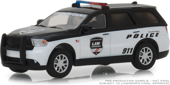 GreenLight 1/64 2017 Dodge Durango Special Service Vehicle - Dodge Law Enforcement Durango Police (Hobby Exclusive) #29995