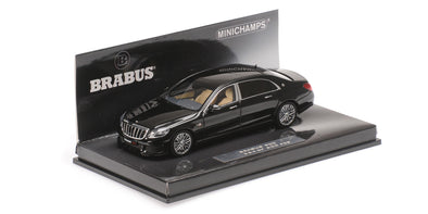 Minichamps 1/43 MAYBACH BRABUS 900 AUF BASIS MERCEDES-BENZ - MAYBACH S 600 - 2016 - BLACK - 437035420