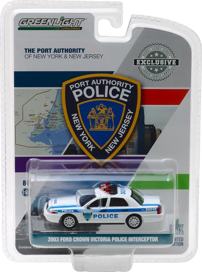 GreenLight 1/64 2003 Ford Crown Victoria Police Port Authority of New York & New Jersey Police (Hobby Exclusive) #30010