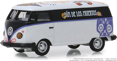 GreenLight 1/64 Volkswagen Type 2 Panel Van - Dia de los Muertos 2019 (Hobby Exclusive) #30040