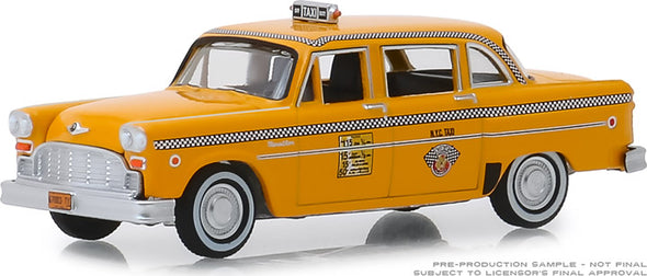 GreenLight 1/64 1981 Checker Motors Marathon A11 N.Y.C. Taxi (Hobby Exclusive) #30076