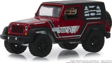GreenLight 1/64 2012 Jeep Wrangler - Bully Dog (Hobby Exclusive) #30086
