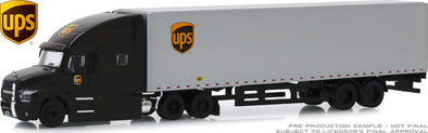 GreenLight 1/64 Mack Anthem 18 Wheeler Tractor-Trailer - United Parcel Service (UPS) Freight (Hobby Exclusive) - #30089