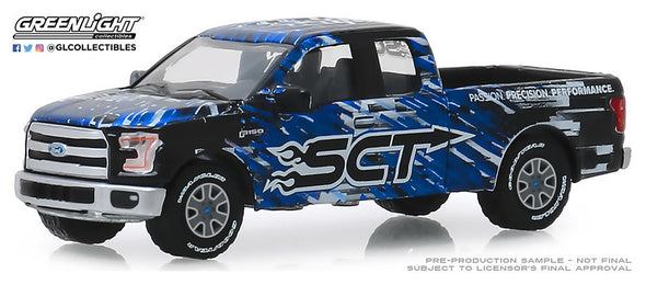 GreenLight 1/64 2017 Ford F-150 - SCT, Derive Systems (Hobby Exclusive) #30091