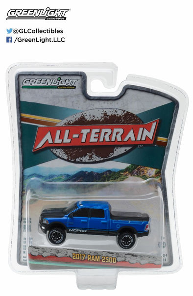 GreenLight 1/64 All-Terrain Series 4 - 2017 Ram 2500 Solid Pack  - #35050-F