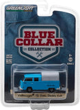 GreenLight 1/64 Blue Collar Collection Series 2 - Volkswagen T2 Doka Double Cab with Canopy Solid Pack - #35060-F