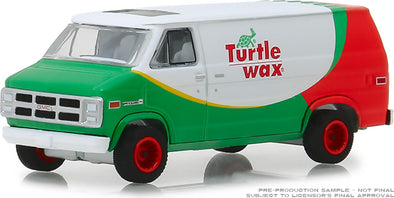 GreenLight 1/64 Blue Collar Collection Series 5 -1983 GMC Vandura - Turtle Wax Solid Pack - #35120-E