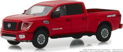 GreenLight 1/64 Blue Collar Collection Series 5 - 2018 Nissan Titan XD Pro-4X Solid Pack - #35120-F