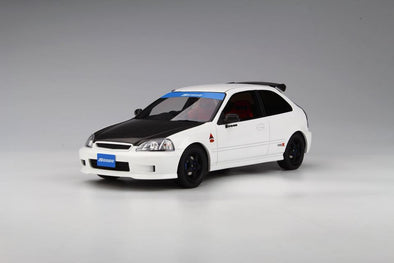 Route Twisk (Otto Mobile) 1/18 Honda Civic Type-R EK9 Spoon White - OT774