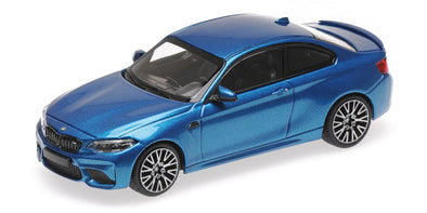 Minichamps 1/43 BMW M2 COMPETITION - 2019 - BLUE METALLIC #410026202