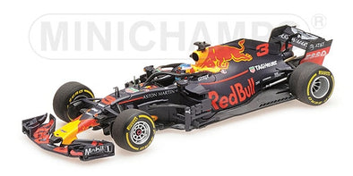 Minichamps 1/43 ASTON MARTIN RED BULL RACING TAG-HEUER RB14 – DANIEL RICCIARDO – 2018 - 410180003