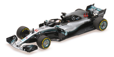 Minichamps 1/43 MERCEDES AMG PETRONAS FORMULA ONE TEAM F1 W09 EQ POWER+ - LEWIS HAMILTON - 2018 - 410180044
