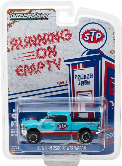 GreenLight 1/64 Running on Empty Series 4 - 2017 Ram 2500 Power Wagon - STP Air Filter Solid Pack - #41040-F