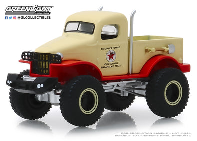 GreenLight 1/64 Running on Empty 8 - 1941 Military 1-2 Ton 4x4 - Texaco Solid Pack - #41080-B