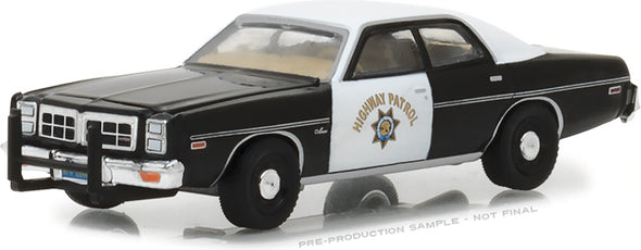 GreenLight 1/64 Hot Pursuit Series 27 - 1978 Dodge Monaco - California Highway Patrol Solid Pack #42840-B