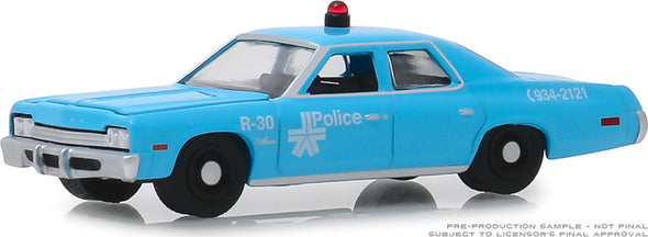 GreenLight 1/64 Hot Pursuit Series 32 - 1974 Dodge Monaco Montreal, Canada Police #42890-A