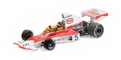 Minichamps 1/43 MCLAREN FORD M23 – EMERSON FITTIPALDI – WORLD CHAMPION 1974 – WITH ENGINE - 436740005