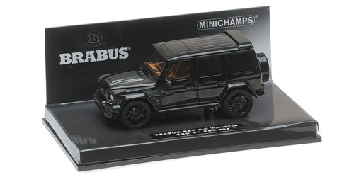 Minichamps 1/43 BRABUS 850 6.0 BITURBO WIDESTAR AUF BASIS MERCEDES-BENZ – AMG G 63 – 2016 – BLACK  - 437032400