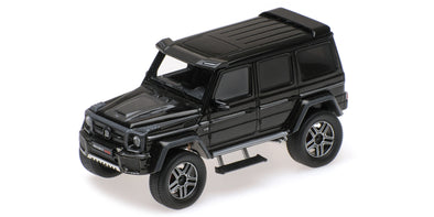 Minichamps 1/43 BRABUS 4×4² AUF BASIS MERCEDES-BENZ G 500 4×4² 2016 – BLACK - 437032460