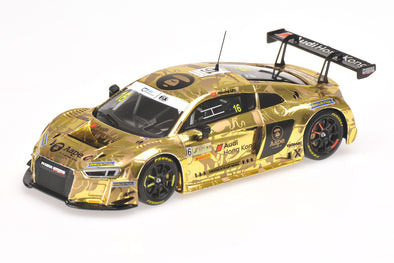 "Tarmac Works x Minichamps 1/43 AUDI R8 LMS  - AAPE by A Bathing Ape - MARCHY LEE  - FIA GT WORLD CUP MACAU 2016 ""2nd Edition"""