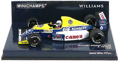 Minichamps 1/43 Williams FW13B 1990 - Ricardo Patrese - 437900006