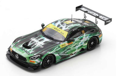 Spark 1/43 MERCEDES-AMG GT3 NO.999 MERCEDES-AMG TEAM GRUPPEM RACING WINNER FIA GT WORLD CUP MACAU 2019 RAFFAELE MARCIELLO - 43MC19