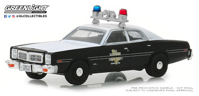GreenLight 1/64 Hot Pursuit Series 30 - 1977 Dodge Monaco - Texas Highway Patrol Solid Pack #42870-B