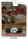 GreenLight 1/64 Hollywood Series 16 - The Andy Griffith Show (1960-68 TV Series) - 1967 Ford Custom Police Solid Pack - #44760-B