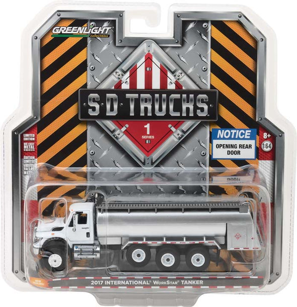GreenLight 1/64 S.D. Trucks Series 1 - 2017 International WorkStar Tanker Truck Solid Pack - #45010-C
