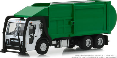 GreenLight 1/64 S.D. Trucks Series 6 - 2019 Mack LR Refuse Truck Solid Pack - #45060-C