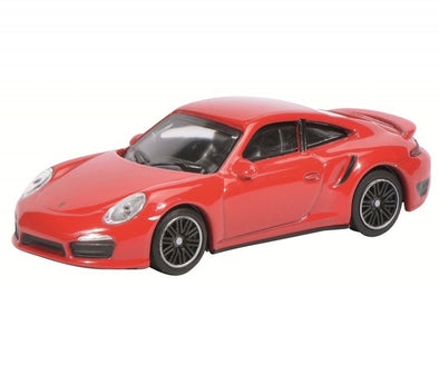 Schuco 1/64 2011 Porsche Turbo (991), Red #452010200
